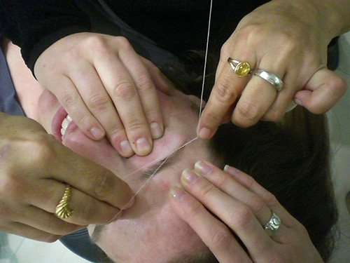 Removing Female Facial Hair