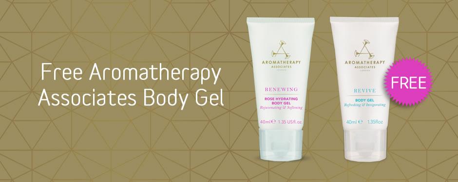 Free Aromatherapy Associates Travel Body Gel