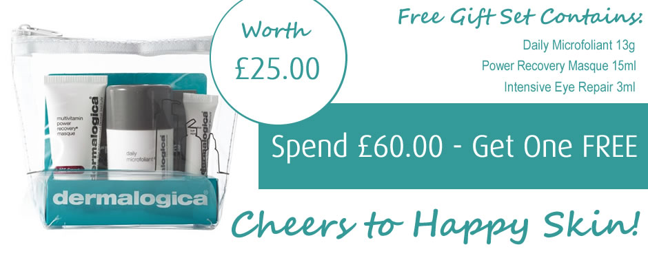 Free Dermalogica Cheers To Happy Skin Gift Set