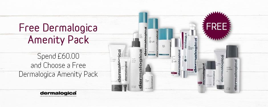 FREE! Dermalogica Amenity Pack