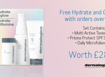 FREE! Hydrate and Glow Kit with Orders over £80.00