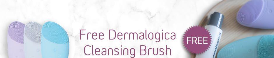 Free Dermalogica Cleansing Brush