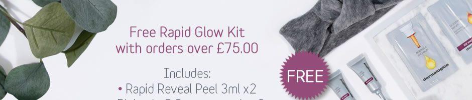 Free Dermalogica Rapid Glow Kit