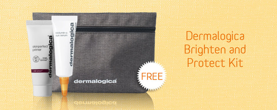 Free Dermalogica Brighten and Protect Kit