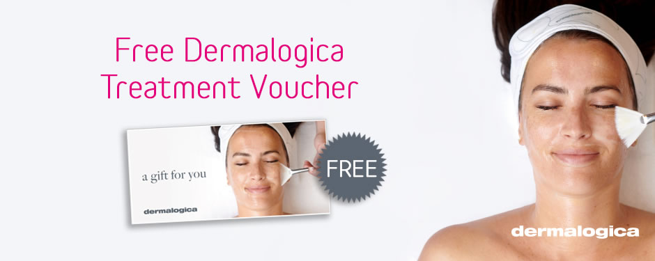 Free Dermalogica Treatment Voucher