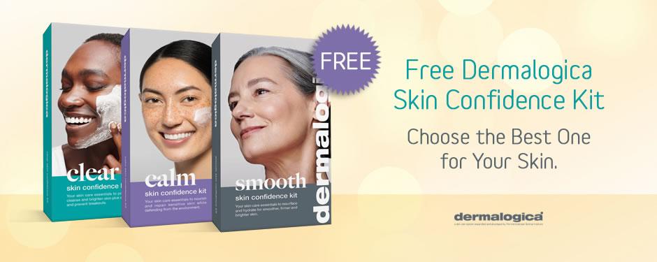 FREE! Dermalogica Skin Confidence Kit