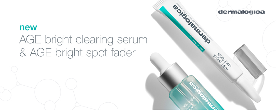 Dermalogica Age Bright Clearing Serum and Age Bright Spot Fader