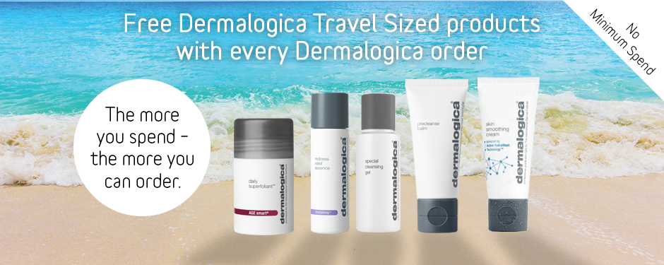 FREE! Dermalogica Travel Sizes with All Dermalogica Orders