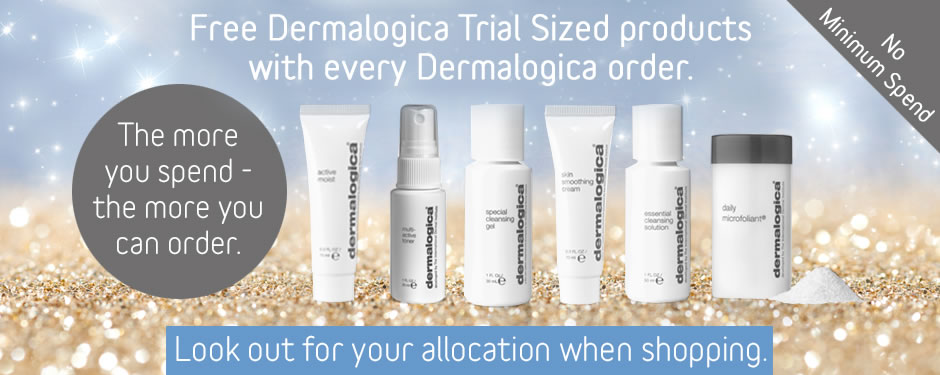 Dermalogica Free Trial Sizes with Sparkle