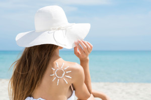 Make sure you use adequate skin protection when building up a tan