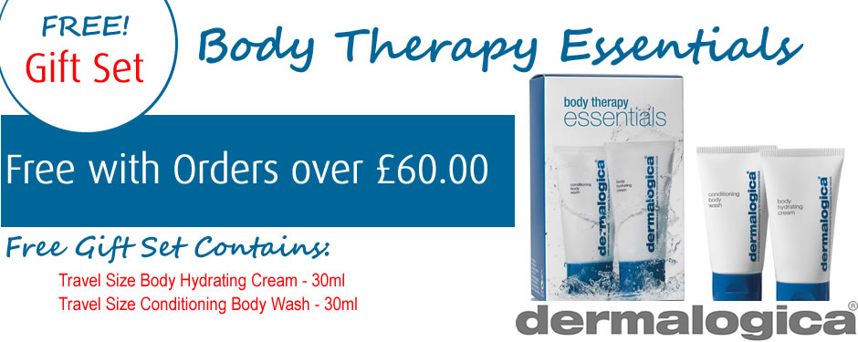 Free Dermalogica Body Therapy GWP 2016