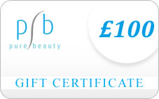 Gift Vouchers adavailabe from Pure Beauty Online